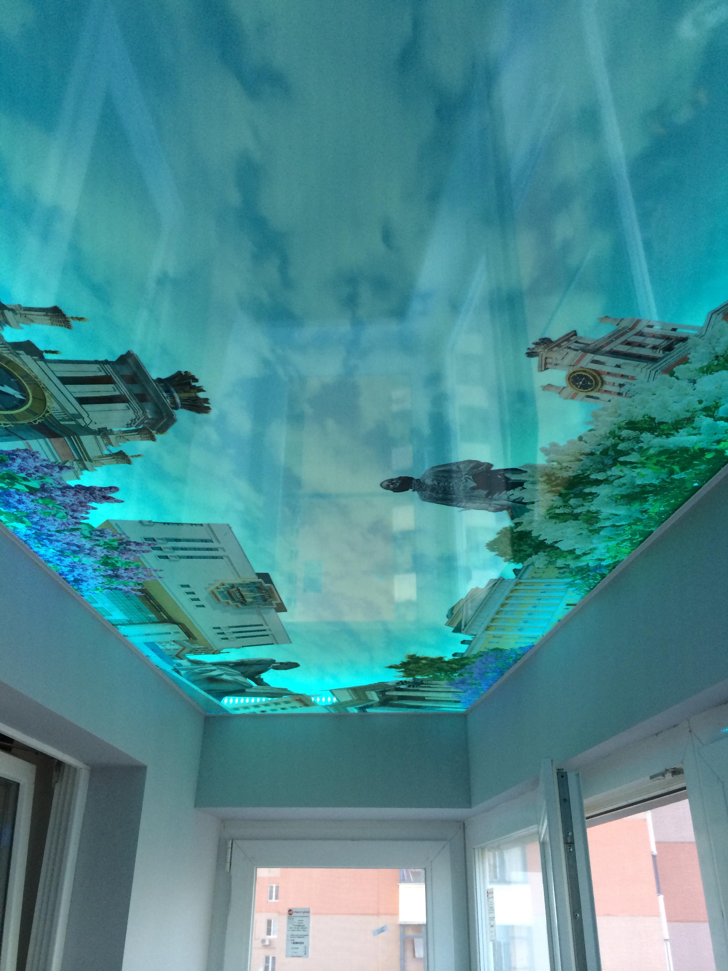 Арт картинки потолка