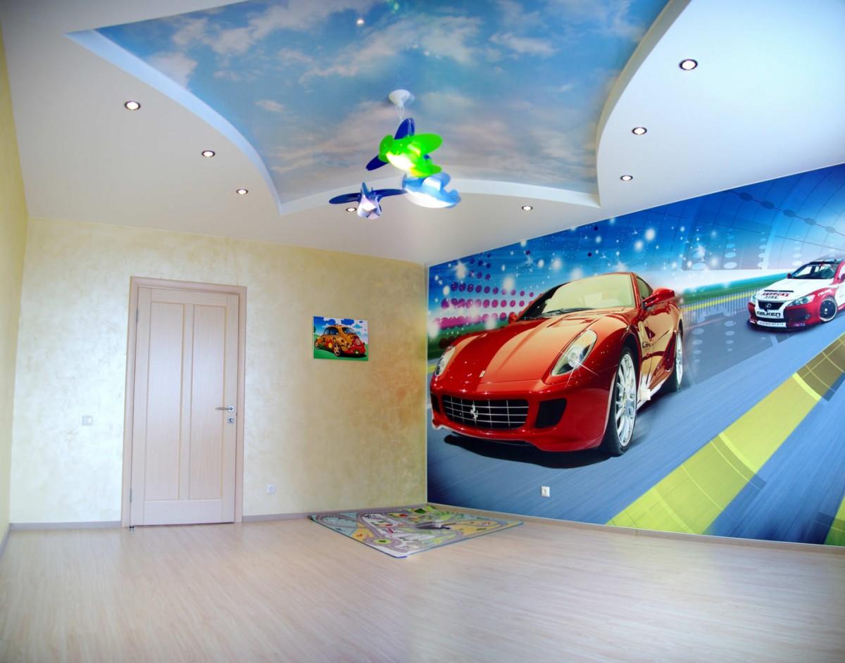 Потолки для детской картинки